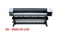 Máy in UV cuộn Xuli X6-2000 UV Led